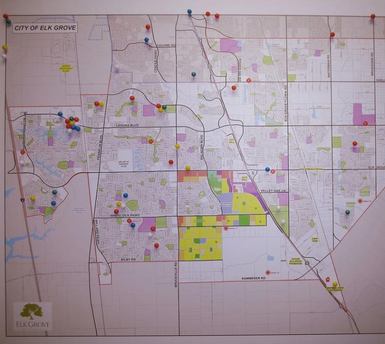 Elk Grove Map
