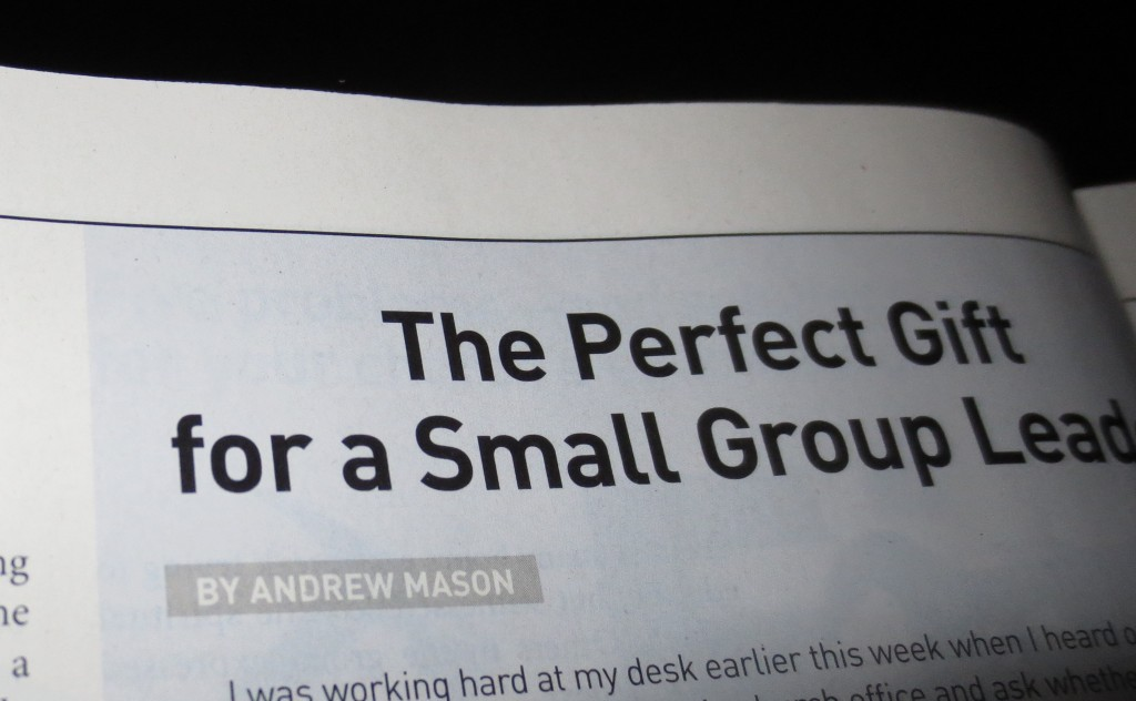 Andrew Mason magazine article